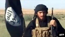 Представитель «Исламского государства» Мухаммад аль-Аднани.
