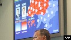 Голова ЦВК Володимир Шаповал під час засідання з підведення офіційних результатів виборів Президента України. Київ, 14 лютого