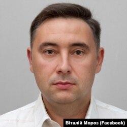 Виталий Мороз, депутат городского совета Святогорска