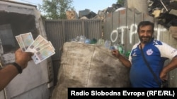 Неформален собирач на отпад.