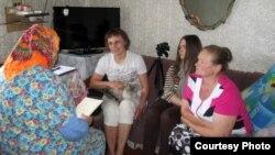 Тацяна Валодзіна ў экспэдыцыі