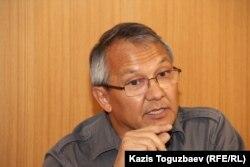 Кенжебек Тогубаев, журналист. Алматы, 15 апреля 2015 года.