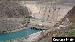 Токтогульское водохранилище