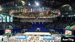 Торжественное открытие 16-го международного чемпионата мира по боксу, Баку, 25 сентября 2011 г.