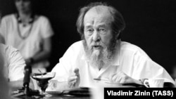 Russian writer and Nobel laureate Aleksandr Solzhenitsyn died in Moscow in 2008 at the age of 89.