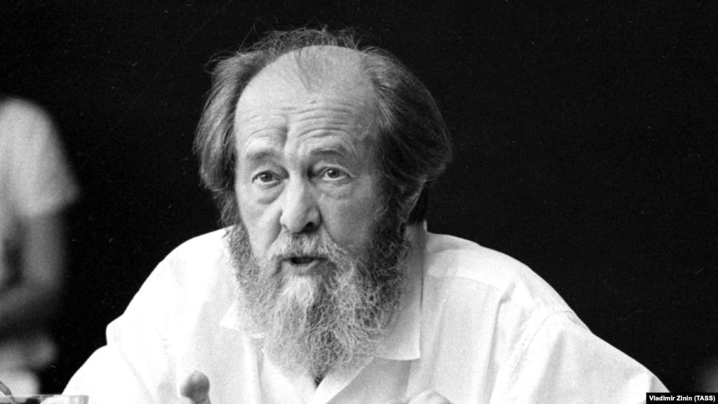 Лауреат Нобелевской премии по литературе Александр Солженицын, 1994 год