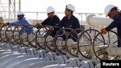 خطوط أنابيب النفط في البصرة