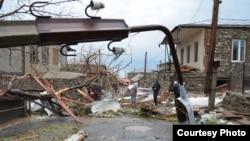 Fierce Hailstorm Batters Eastern Georgia