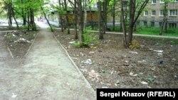 Самара. Мусор на улицах. Фото Сергея Хазова