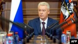 Мэр российской столицы Сергей Собянин. Москва, 20 июня 2013 года.