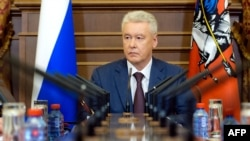 Moscow's acting mayor, Sergei Sobyanin, was a no-show at the debate.