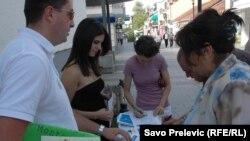 """NVO """"Ozon"""" na 19. godišnjicu proglašenja ekološke države, Pdgorica"""