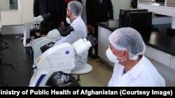 کابل کې د افغان-جاپان روغتون لابراتوار