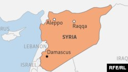 Syria Locator Map Key Cities