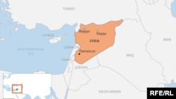 Сирия картасы.