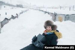 Наталья Ефимкина и гаражи, которые она снимала