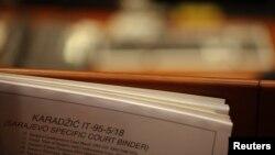 Dokumenta za suđenje Radovanu Karadžiću, ilustrativna fotografija