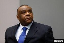 Jean-Pierre Bemba, la Curtea de la Haga, iunie 2016