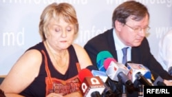 Josette Durrieu' şi Egidijus Vareikis (Consiliul Europei)