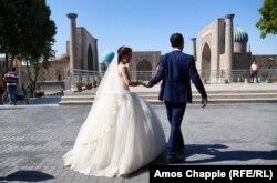 Vjenčanje u gradu Samarkandu, 4. avgust, 2020.