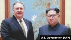 پومپئو در زمانی که ریاست سازمان اطلاعات مرکزی آمریکا را بر عهده داشت نیز با کیم جونگاون دیدار کرده بود
