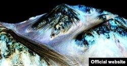 Вода на Марсе. Снимок NASA