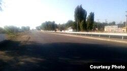 Дорога Бишкек – аэропорт «Манас».