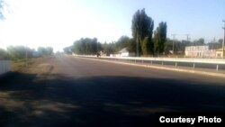 Дорога Бишкек-аэропорт. Село Ак-Жол