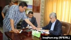 وفد من وزارة الكهرباء في محافظة صلاح الدين