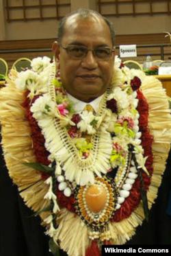 Кристофер Лоеак, президент Маршалловых островов