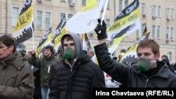 Москва, Болотная аянты, 11-декабрь.