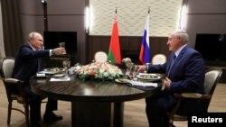 Владимир Путин и Александр Лукашенко в Сочи
