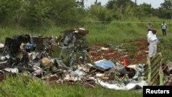 Կուբա - Կործանված օդանավի բեկորները, 18-ը մայիսի, 2018թ․