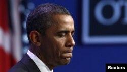 АҚШ президенті Барак Обама. Чикаго, 21 мамыр 2012 жыл.