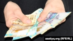 Казахстанские деньги. Иллюстративное фото.