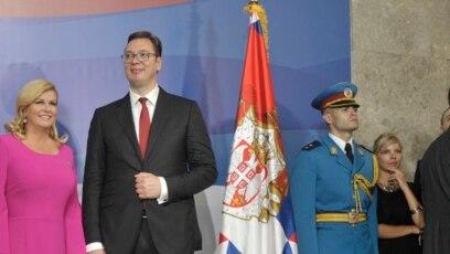 Kolinda Grabar-Kitarović i Aleksandar Vučić, Beograd, 2017.