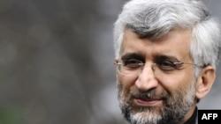 سعید جلیلی، دبیر شورای عالی امنیت ملی و مذاکرهکننده ارشد هستهای ایران.