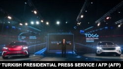 TOGG ընկերությունը ներկայացրեց առաջին էլեկտրամքենաները, Գեբզե, Կոջաելիի նահանգ, Թուրքիա, 27-ը դեկտեմբերի, 2019թ.