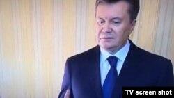 Виктор Янукович дает интервью украинскому каналу UBR.