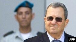Израелскиот министер за одбрана Ехуд Барак.