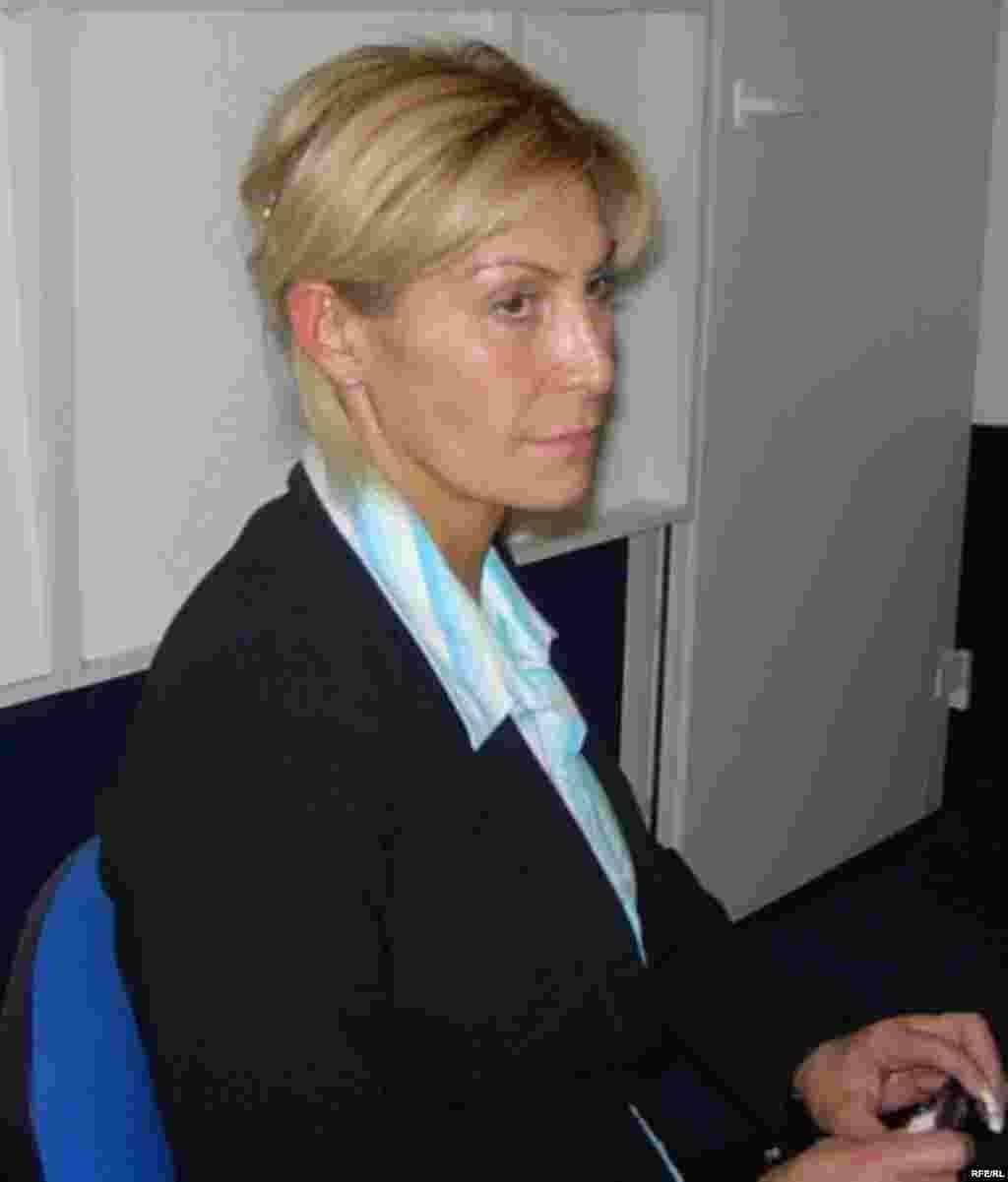 Руководитель Российской общественной организации «Норд-Ост» Татьяна Карпова