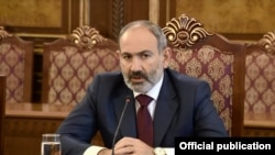 Armenia/CSTO - Nikol Pashinian, Prime Minister of Armenia, meets with the speakers of the parliaments of CSTO member countries, Yerevan,05Nov,2019
