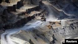 Rudnik bakra u Boru, ilustracija