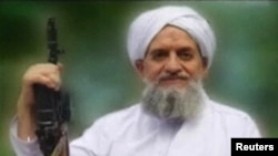 A video grab shows Ayman al-Zawahiri, al Qaeda's new leader, 11Sep2011