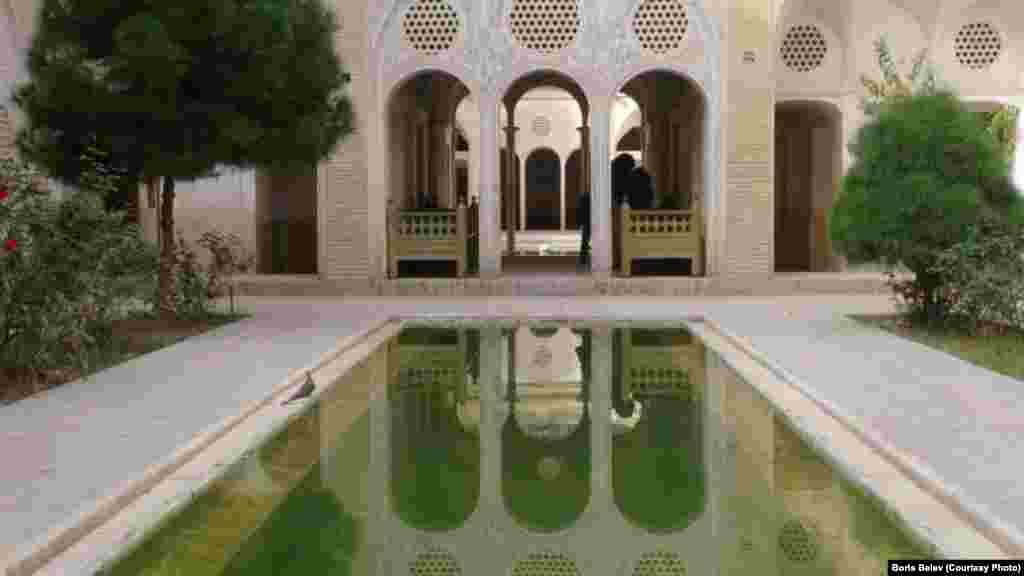 Iran- Kashan, a city in and the capital of Kashan County, in the province of Isfahan, Iran. October 2013