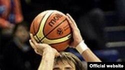 В составе армейцев лучшим был Матьяж Смодиш. Он принес команде 19 очков. Фото с официального сайта БК ЦСКА http://www.cskabasket.ru