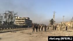 Последствия атаки на Консульство Германии в Афганистане. Мазар-и-Шариф