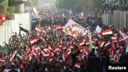 Під час протесту під посольством Туреччини в Багдаді, 18 жовтня 2016 року