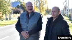 Лукашенко подарував Путіну картоплю