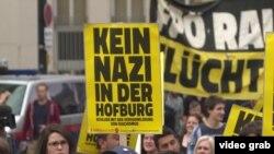 Protesti protiv Hofera u Hofburgu